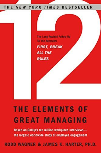 12: The Elements of Great Managing Book Cover