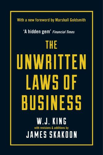 The Unwritten Laws of Business Book Cover